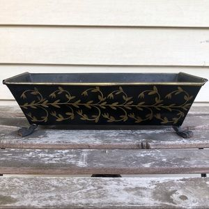 antique claw foot planter
